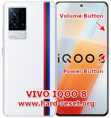hard reset vivo IQOO8