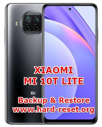 how to backup & restore data on xiaomi mi 10t lite