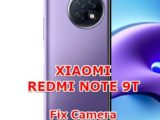 how to fix camera problems on xiaomi redmi note 9t