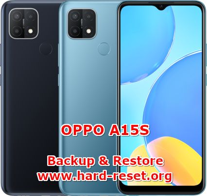 how to backup & restore data on oppo a15s