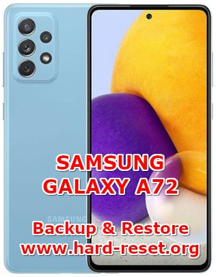 how to backup & restore data on samsung galaxy a72