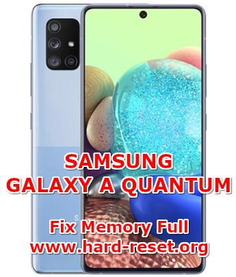 solution to fix low free storage full problems on samsung galaxy a quantum