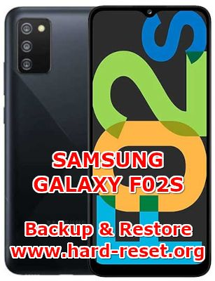how to backup & restore data on samsung galaxy f02s