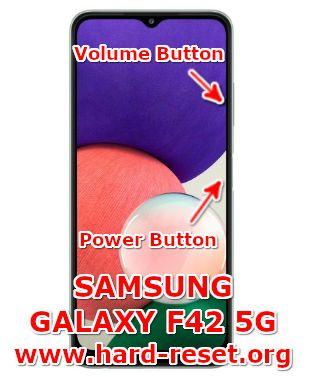 hard reset samsung galaxy f42 5g