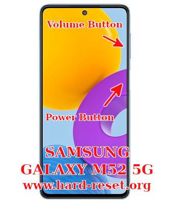 hard reset samsung galaxy m52 5g