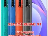 solution to fix lagging problems on xiaomi redmi 9t