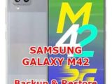 how to backup & restore data on samsung galaxy a42