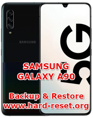 how to backup & restore data on samsung galaxy a90
