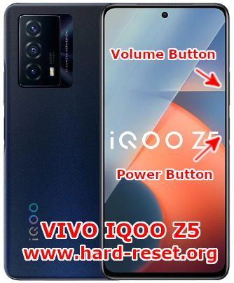 hard reset vivo IQOO z5